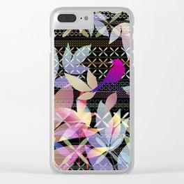 Garden Music Clear iPhone Case