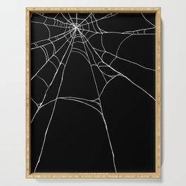 Spiderweb Serving Tray