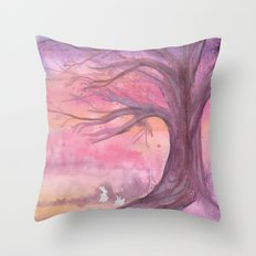 Early Spring Hour Throw Pillow