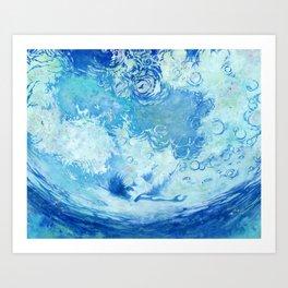Water ceilling Art Print