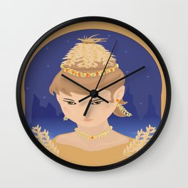 Harvest Queen Wall Clock