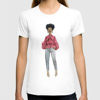 fancy T-shirts featuring Fancy by Coily and Cute