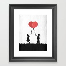 Fly With Me Framed Art Print
