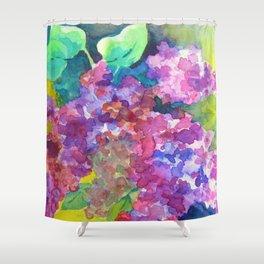 Bold Color Lilacs Shower Curtain