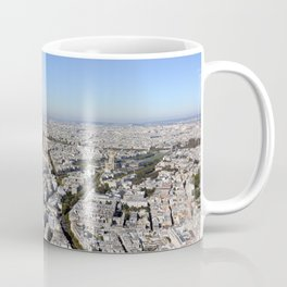 Paris From Above Coffee Mug