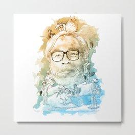Hayao Miyazaki Ghibli Studio Metal Print