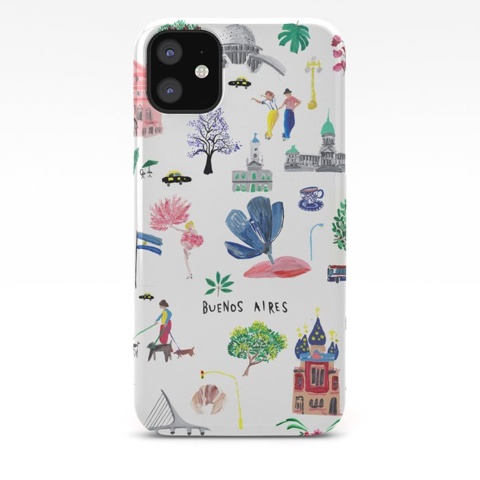 Buenos Aires iphone case