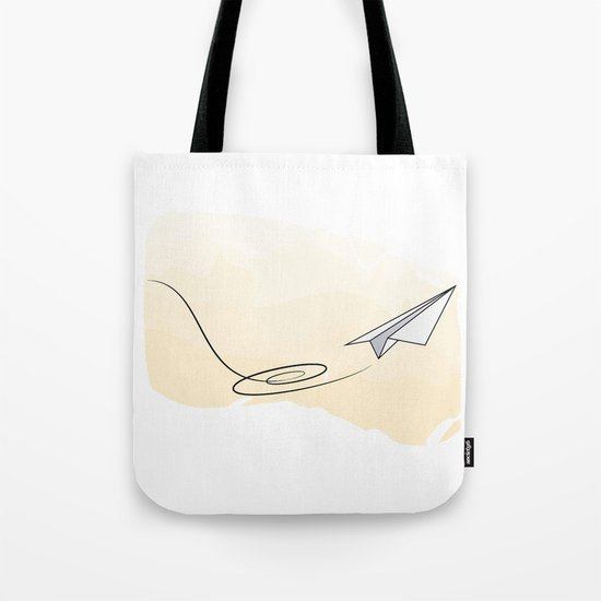 Paperplane Tote Bag