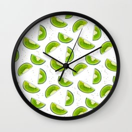 Kiwi texture Wall Clock