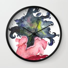 Ever Expanding Wall Clock