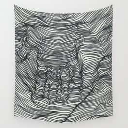 seismic waves Wall Tapestry