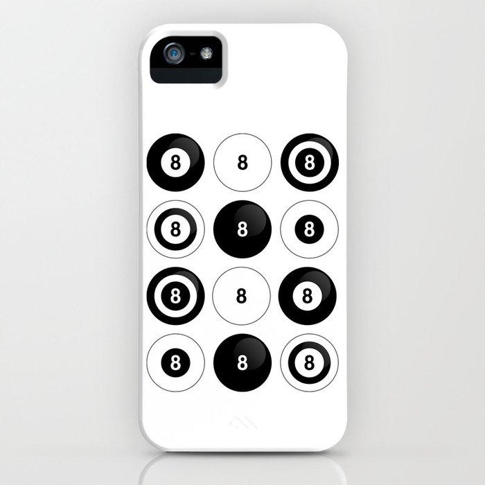 8 ball iPhone Case