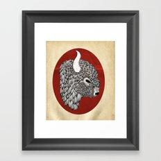 The Buffalo Framed Art Print