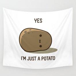 Cute Potato Wall Tapestry