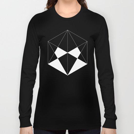 Hexagon Long Sleeve T-shirt