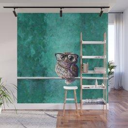 Intellectual Owl Wall Mural
