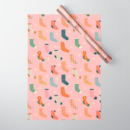 Christmas socks Wrapping Paper