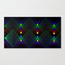 Point Mountain Vortex Canvas Print