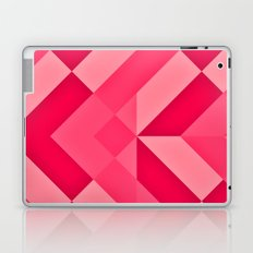 Shades of Pink abstract Laptop & iPad Skin