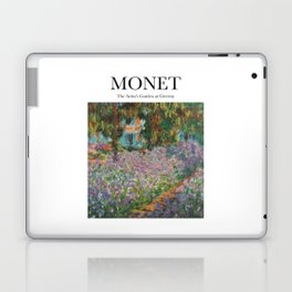 Monet - The Artist's Garden at Giverny Laptop & iPad Skin