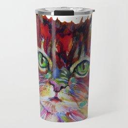 Fat Orange Cat Travel Mug
