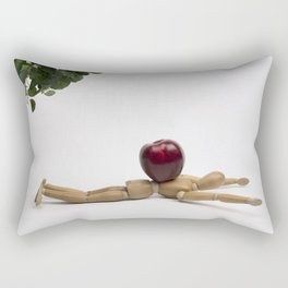 Felled by the Low Hanging Fruit Rectangular Pillow