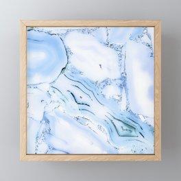 Bluebell crystal Framed Mini Art Print