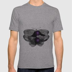 Moth SMALL Tri-Grey Mens Fitted Tee