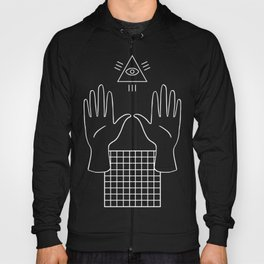 Occult Illuminati Aesthetic Vaporwave Hoody