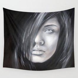 Tajemná žena Wall Tapestry