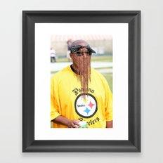 #natedogg Framed Art Print