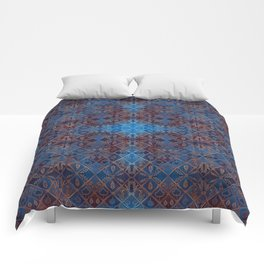 Copper Leaves Comforters