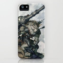 Shock and Awe iPhone Case