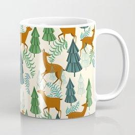 Deers in the forest Coffee Mug