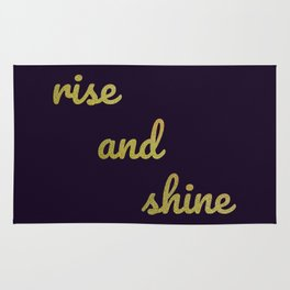 The Positive Quote II Rug