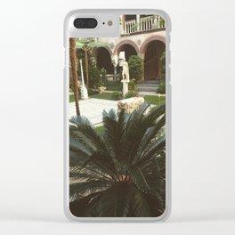 Gardner Garden Clear iPhone Case