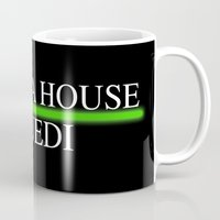 jedi Mugs featuring House Jedi by Jung311