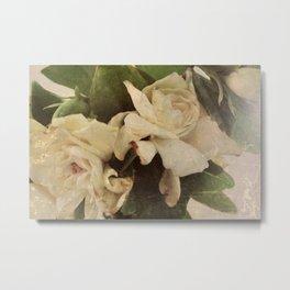 Rustic Floral Metal Print