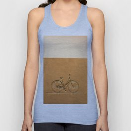 i like to ride my bicycle  Unisex Tank Top