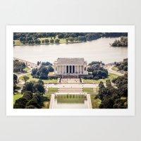 Lincoln Memorial Art Print