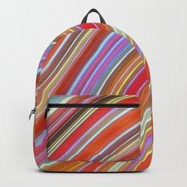 Wild Wavy Lines IX Backpack
