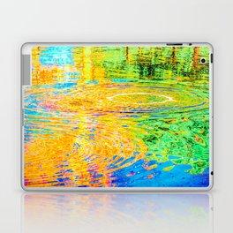 Rainbow Tarpit Laptop & iPad Skin