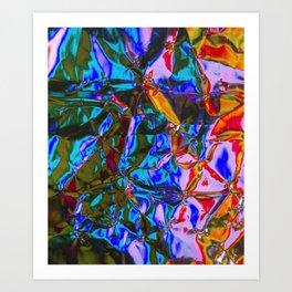 Holograhm Art Print