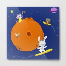 Space Fun Metal Print
