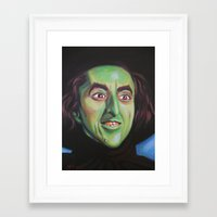 wicked Framed Art Prints featuring Wicked by Hillary White