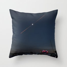2017 Total Solar Eclipse 2 Throw Pillow