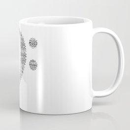 Typographic Fa key Coffee Mug
