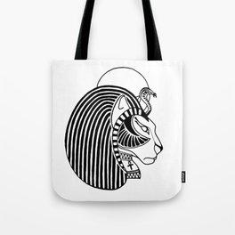 Tefnut Egyptian Goddess Tote Bag