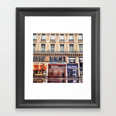 Paris Streets 1 Framed Art Print