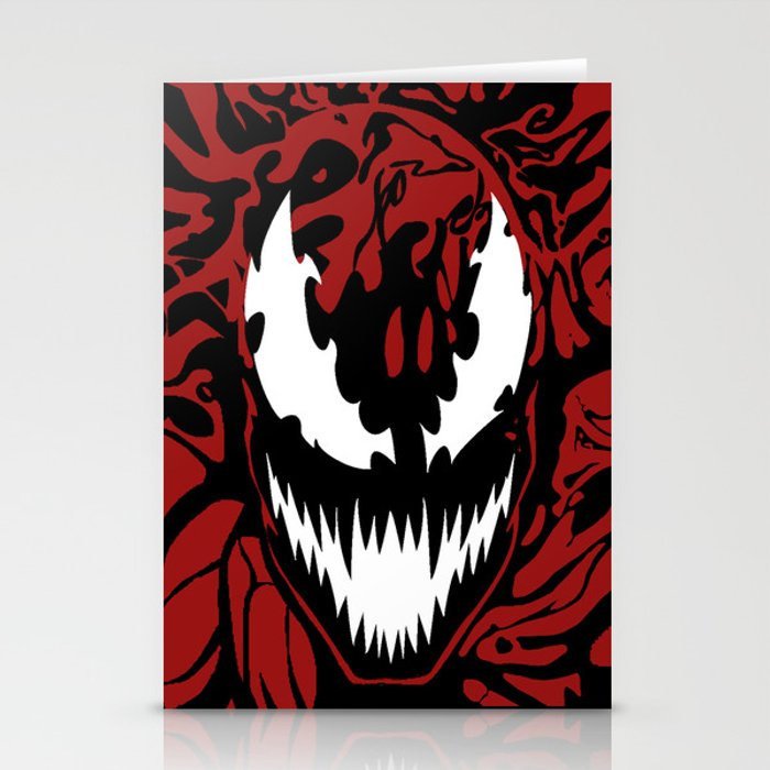 carnage Stationery Cards
